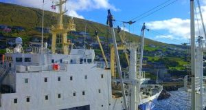 Адмирал шабалин в порту. Механик ковтун в порту. Фарерские острова. Фото.