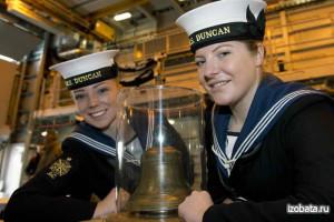 Девушки курсанты МА ВМФ Великобритании
