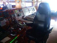 на мостике, сдача тестирования мкуб, на борту.
