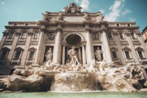 Италия, фонтаны