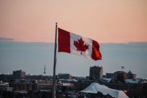 Канада, флаг