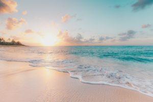 саргассово море, пляж
