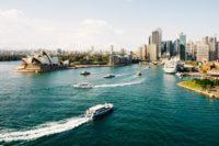 сидней, фото с квадракоптера, австралия.