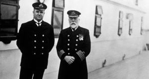 титаник, моряки, экипаж, капитан, архивные фото.