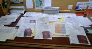 документы, мостик, документы моряков.